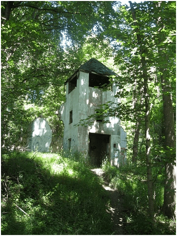 The Lonely Sentinel at Old Dorsey Church