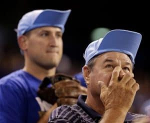 Every one must wear their rally caps the same way for it to work.