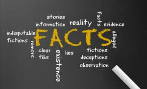 Words like Facts, Fiction, and Deception Interlinked