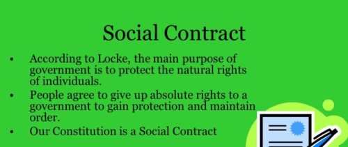 Flash Mob and the Social Contract