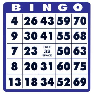 Bingo Day card