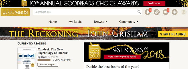 Goodreads and Book Snapshots