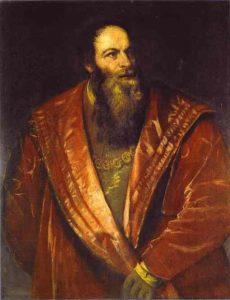Pietro Aretino, the patron saint (or devil) of wordsmithing. He excoriated his patron's rivals.