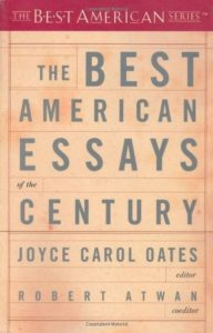 Best American Essays of the Century
