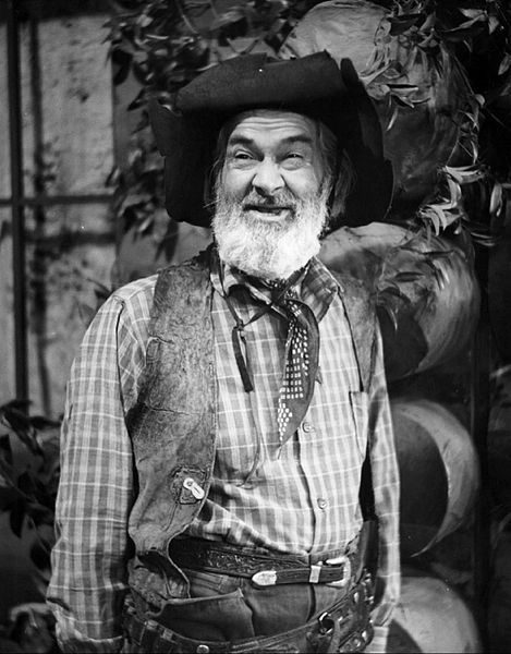 Garrulous Gabby Hayes, the old-time sidekick