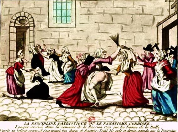Mobocracy. Women riot, Reign of Terror
