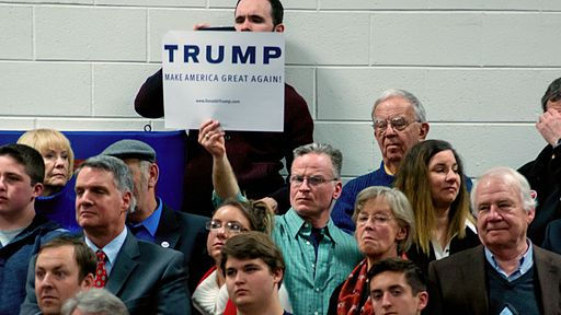 Audience spellbound at Trump rally