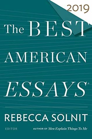 Cover of Best American Essays 2019